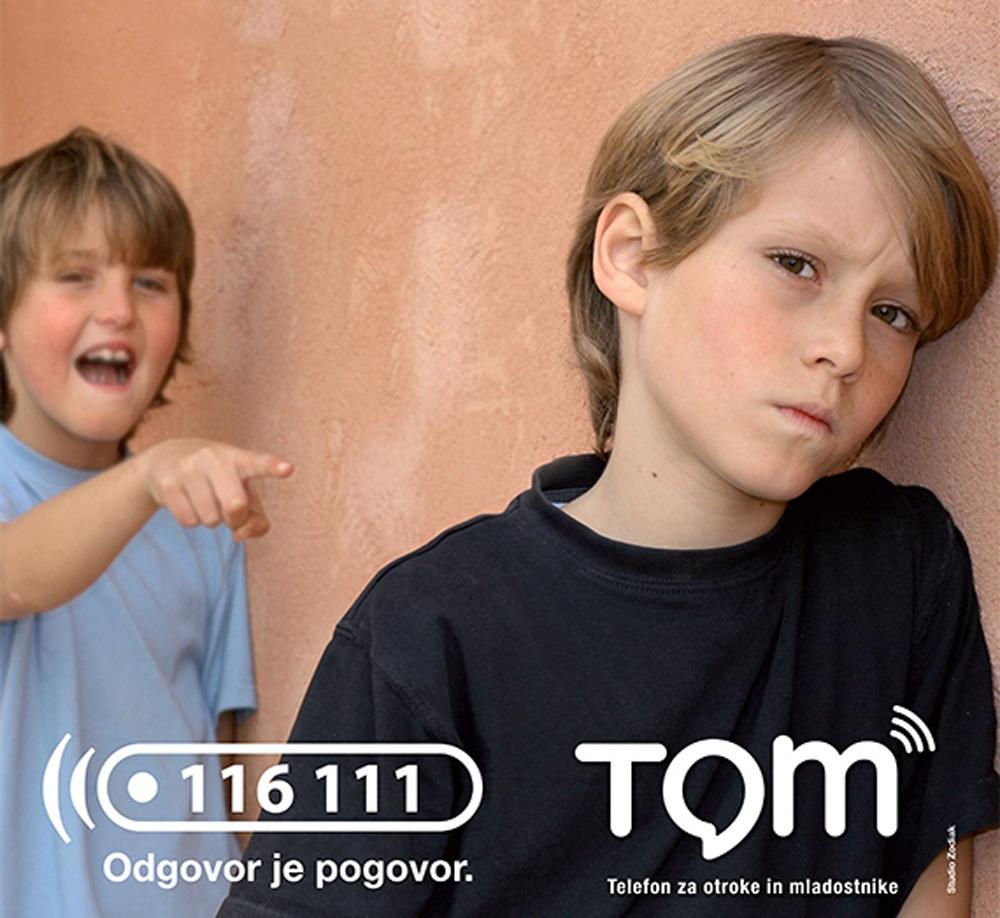 TOM – telefon za otroke in mladostnike