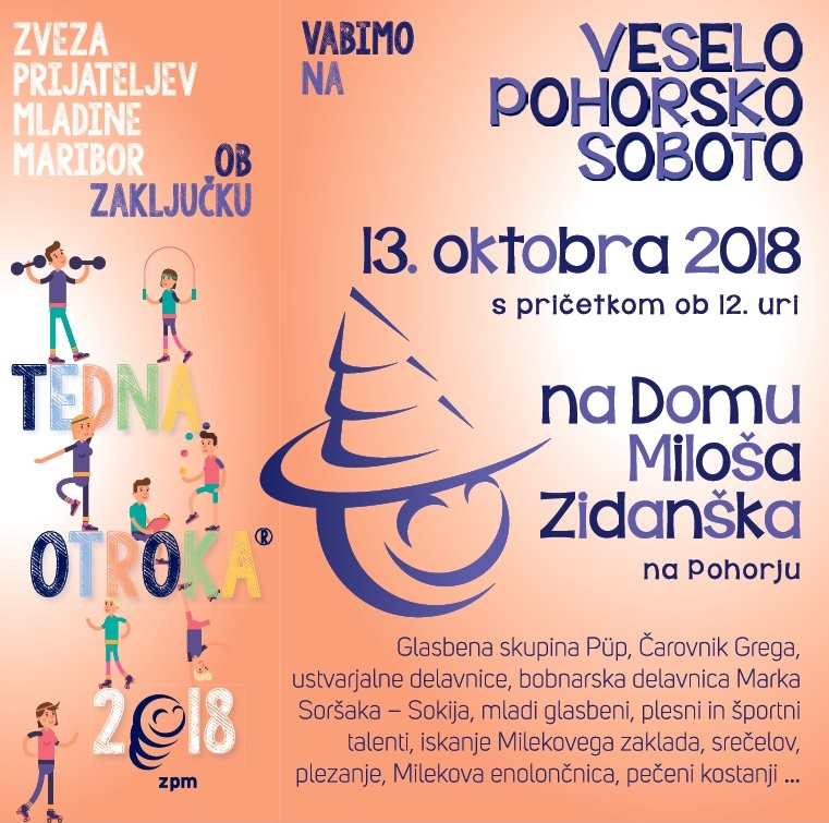 Vesela pohorska sobota 2018