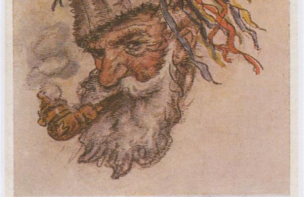 Siva kučma, bela brada – razstava – 70 let dedka Mraza