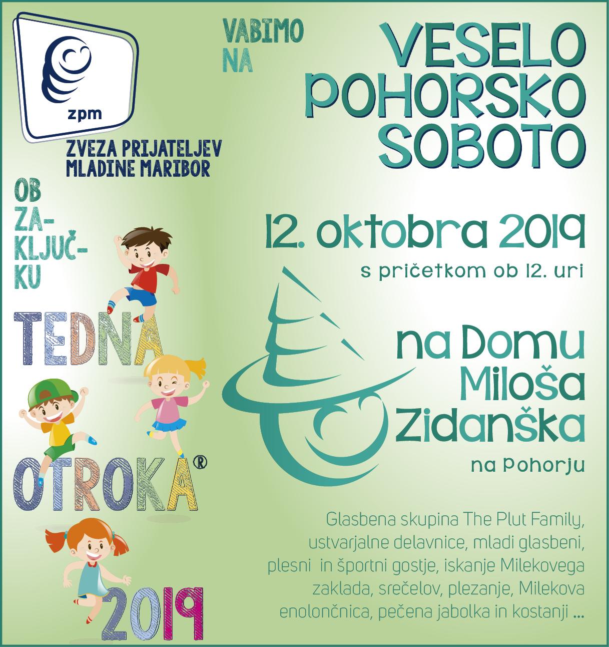 Vesela pohorska sobota (12.10.2019)
