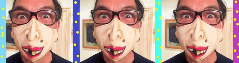 """Natečaj za najbolj zabavno zaščitno masko """"Hecna faca"""""""